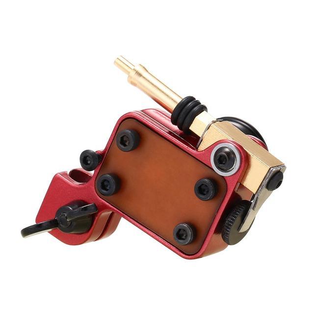 רוטרי קעקוע מכונת יפני מנוע אלומיניום סגסוגת מסגרת (אדום)