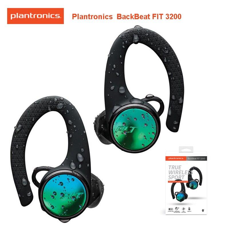 PLANTRONICS BACKBEAT FIT 3200 True Wireless Bluetooth 5.0 Sport écouteurs soutien MEMS DPS écouteurs pour Huawei Xiaomi Samsung S10