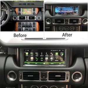 Image 2 - カーマルチメディアgps androidのラジオステレオランドローバーのためレンジローバーヴォーグL322 V8 2002 〜 2012 carplayナビゲーションナビ