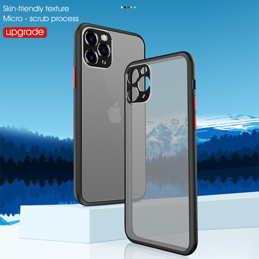 Shockproof Camera Lens Protection Phone Case for iPhone 11 Pro Max XR XS Max 10 8 7 6s Plus 8Plus iPhone11 11Pro Silicone Cover image
