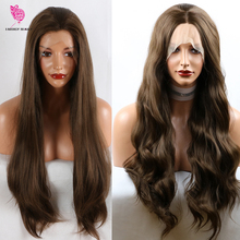 Fantasy Beauty 180% Density Women 26 Inches Lace Front Wig N