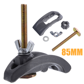 1 Set CNC Milling Engraving Machine Parts 85mm Bow Plate Sets Clamp Fixture Fastening Platen Router for T-slot working table 2 pcs lot cnc engraving machine clamp high strength plywood wood router table t slot plate