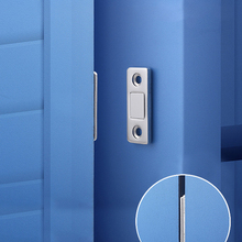 Door-Stops-Hidden-Door-Closer Catches Magnet Closet Furniture Hardware Screw Cupboard
