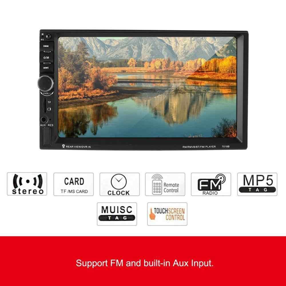 2020 Nuovo 7 Pollici Doppio 7018B 2 DIN Car Stereo FM Radio Lettore MP5 TouchScreen Multimedia Player Con La Direzione di Controllo