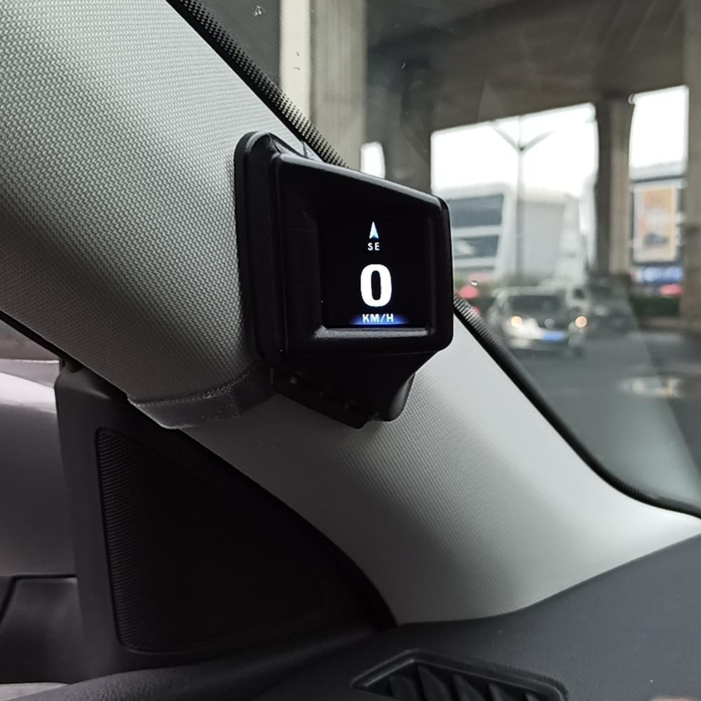 OBD GPS Dual System Hud Display Car Head-up Display Digital GPS Speedometer Odometer Overspeed Alarm Car Speed Projector HotSale