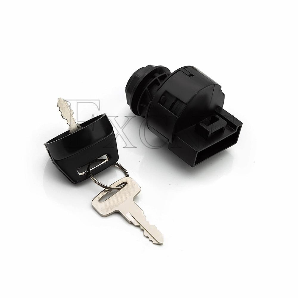 פלאזמה עבור טרקטורוני BRP Can-Am Outlander Renegade 2007 08 09 10 11 12 13 2014 אופנוע הצתת Switch Lock Key גדר (5)