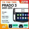 JIUYIN ForToyota Prado 2010-2013 автомобильный Радио Мультимедиа Видео плеер навигация GPS Android No 2din 2 din