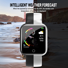 Torntisc I5 podómetro Control de música varias esferas ritmo cardíaco Fitness Smartwatch hombres mujeres Android IOS VS B57