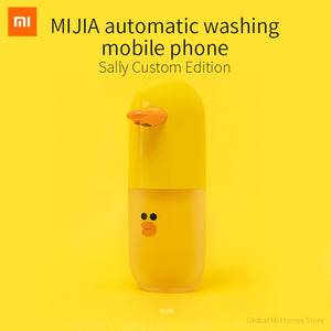 Image 2 - Xiaomi MiJia Automatic Hand Washing Set LINE Sally Customized Millet Induction Soap Dispenser Hand Washing Machine
