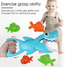Водные игрушки Ванна Плавательный Бассейн Ванная комната голодная акула игрушка ловля рыбы игрушки для ванной игрушки для детей малышей