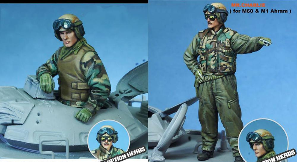 1/35  Modern Stand Man Include 2 (not Have Car )   Resin Figure Model Kits Miniature Gk Unassembly Unpainted