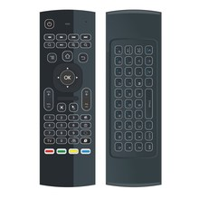 MX3 Backlit Air Mouse Smart Remote Control 2.4G RF Wireless Keyboard for TV Box Android X96 Mini KM9 A95X H96 MAX(China)