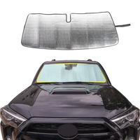 Front Windshield Sunshade Car Sun Shade Heat Shield Sun Visor Mat for 2017-2019 Toyota 4Runner SUV