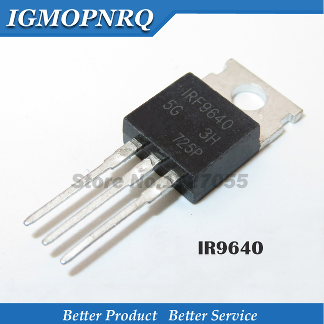 Free shipping 5pcs/lot IRF9640 FET TO 220 original authentic