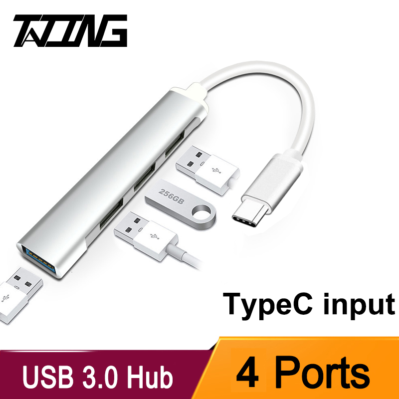 USB C HUB USB 3.0 HUB TypeC USB Splitter Thunderbolt 3 USB C Dock Adapter OTG For Macbook Pro 13 15 Air Mi Pro HUAWEI Matebook|USB Hubs|   -