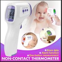 (在庫あり) 額温度計非接触赤外線温度計体温発熱デジタル測定ツールの場合