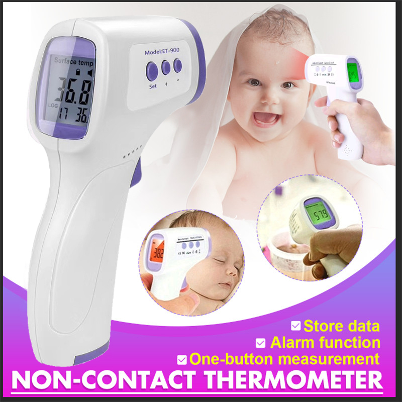 Infrared Thermometer Non-Contact Temperature Measurement Tool Forehead Digital Thermometer for Kids and Adult