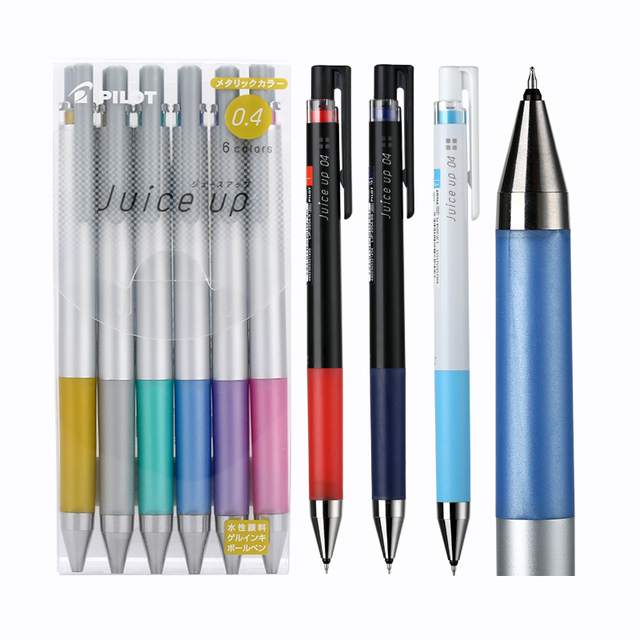 טייס לדפוק ג ל דיו נוסף בסדר כדורי עט מיץ עד 0.3/0.4mm רגיל/מתכתי/פסטל צבעים סט