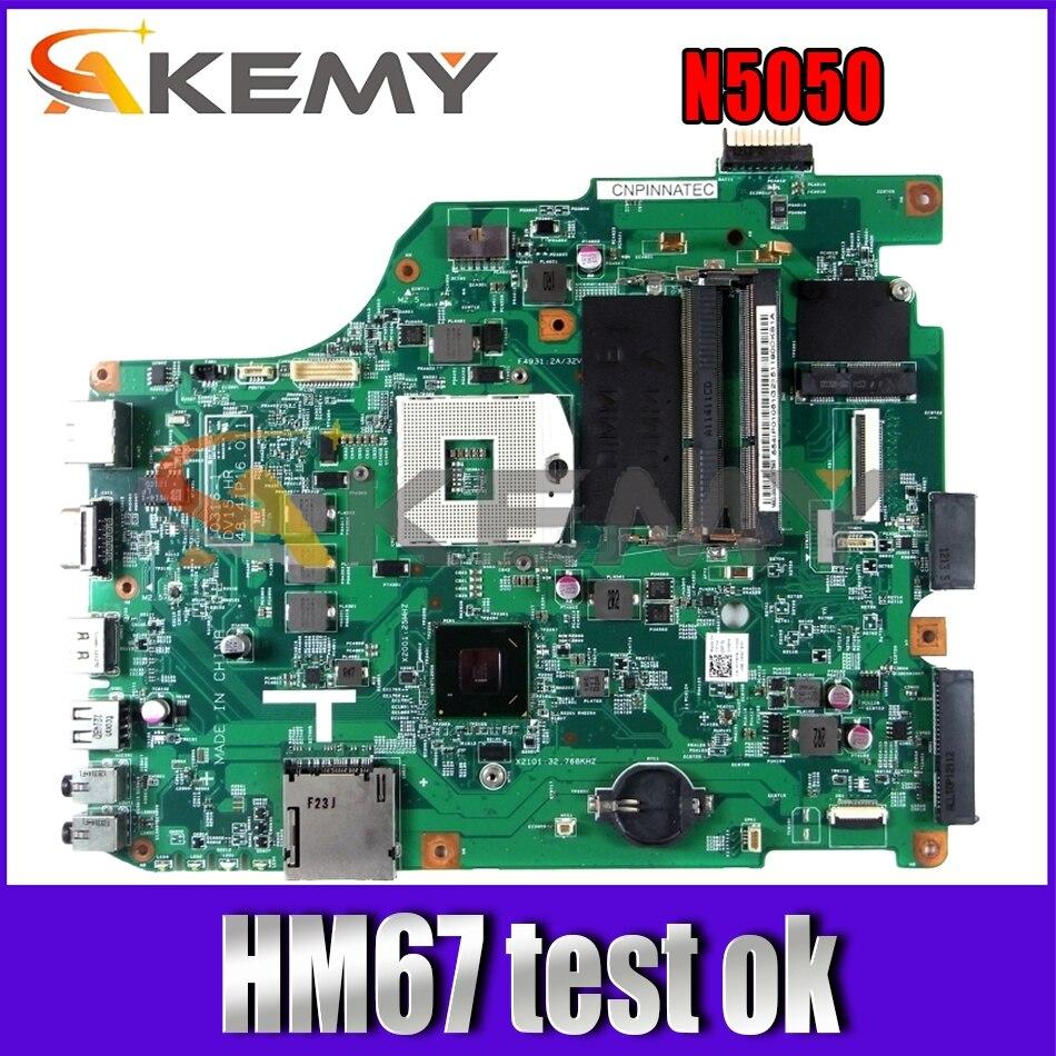 CN-0FP8FN 0FP8FN FP8FN для DELL Inspiron N5050 Материнская плата ноутбука 10316-1 DV15 MB 48.4IP16.011 HM67 чип 100% полностью протестирована