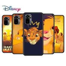 The lion king for Xiaomi Redmi Note 10 10S 9 9T 9S 9Pro Max 8T 8Pro 8 7 6 5 Pro 5A 4X 4 Soft Black Phone Case