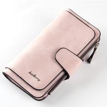 Female Purse Hasp Card-Holder Clutch Pocket Women Wallets Zipper Luxury Casual Baellerry