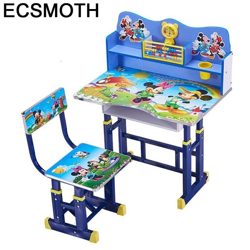 Chair And Escritorio Play Tavolo Bambini Pupitre Mesa Y Silla Infantil Adjustable Bureau Enfant Kinder Study Table For Kids