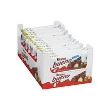 Kinder good, box of 10 packs of 3 units of 2 bars 43 gr.
