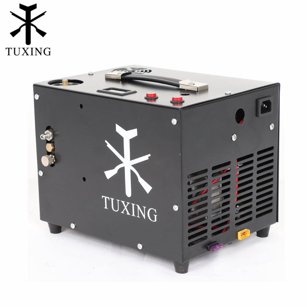 TXET062 12V Compressor Car-battery-driven Compressor For Pneumatic Rifle Air Tank 4500psi Compressor 300Bar 30Mpa