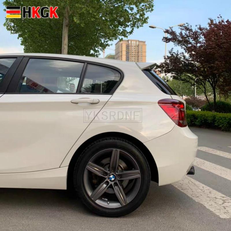 Pour BMW F20 F21 Spoiler 2015-2018 116i 120i 118i M135i haute qualité ABS matériel voiture aile arrière apprêt couleur aileron arrière