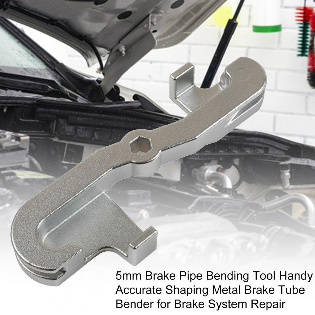 35% Hot Sales!!! 5mm Brake Pipe Bending Tool Handy Accurate Shaping Metal Brake Tube Bender for Brake System Repair