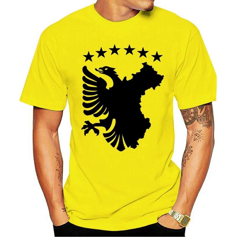 Bandeira автохтонных albânia Косово Shqiptar Montanhas 2021 футболка S-3XXL