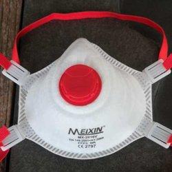 Stokta FFP3 anti-sis koruyucu maskesi toz geçirmez dış mekan yüksek verimli filtrasyon nefes yüz maskesi