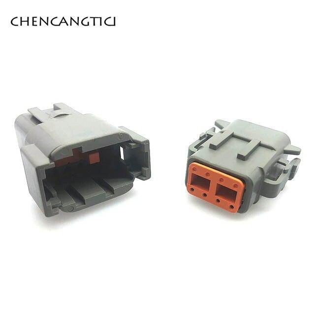Automotive Connectors DTM 2 Way Plug 1 piece