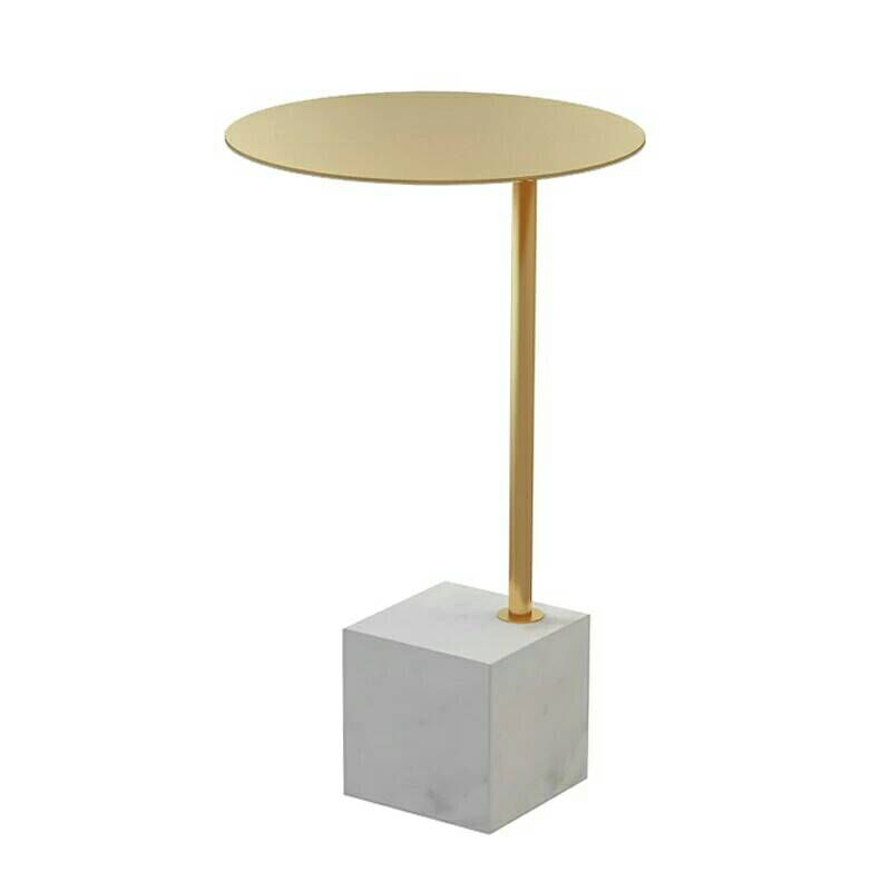 Nordic Marble Small Tea Table Living Room Sofa, Several Corners Of The Bedside Tables, Simple Modern Creative Small Round Table