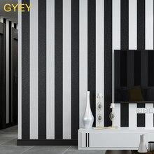 Embossed Modern Minimalist Black White Vertical Stripes Wallpaper PVC Wallpaper Bedroom Living Room TV Wall Background цены