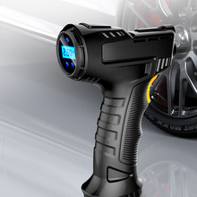 120W Rechargeable Air Compressor Wireless Inflatable Pump Portable Air Pump Digital Car Automatic Tire Inflator Equipment
