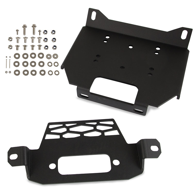 Winch Mount Plate Bracket For POLARIS RZR 900/1000 14-16 GENERAL 1000 2015-2018 GENERAL 4  1000  2017-2018