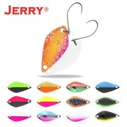 Jerry 2,5g 3,5g 5g kleine micro fischerei löffel trout löffel lockt angeln spinner köder zwei-seite farbe
