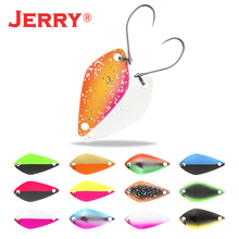 Jerry Aquarius 2.5g 3.5g 5g small micro fishing spoons trout spoon lures fishing spinner bait two-side color