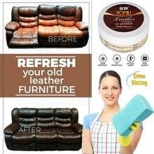 1 шт. многофункциональная кожа ремонт очиститель ремонт крем на сиденье в машину на диван кожа обновление чистящий набор обеззараживание инструмент