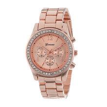 Женева классические роскошные стразы женские часы модные reloj