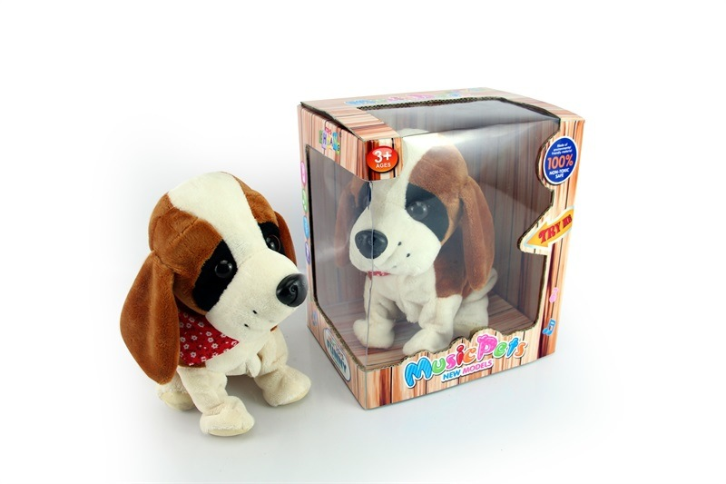 Electric Voice Kitty Toy Will Walk Plush Model Dog GIRL'S And BOY'S Toy Children Doll Doll