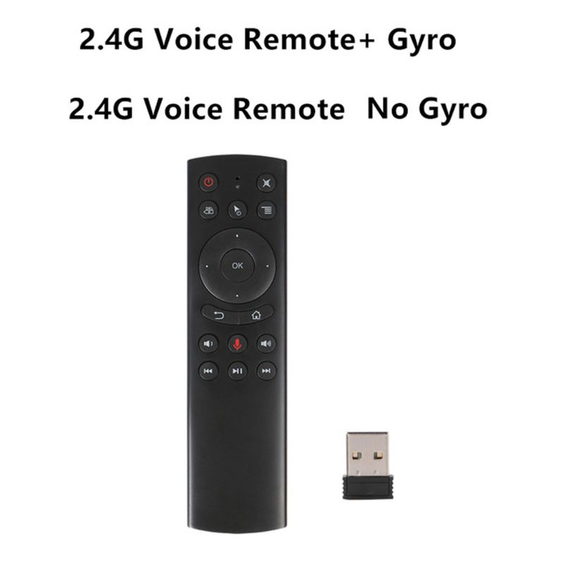 G20S Gyro Smart Voice Remote Control IR Learning 2.4G Wireless Fly Air Mouse image