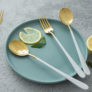 Image 4 - Westerse Bestek Roestvrij Staal Servies Lepel Vork Mes voor Spaghetti Steak Salade Eten Fotografie Schieten Versiering Props