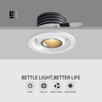 LED DOWNLIGHT COB led Under cabinet Light 3w LED Spotlight Lighting Recessed MIni led Ceiling Downlights Lighting Bulb For Room|LED Downlights| |  -