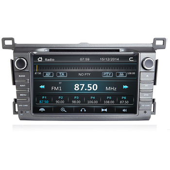 8IPS 2 Din car multimedia dvd player GPS for Toyota RAV4 Rav 4 2013 2014 2015 2016 2017 2018 car radio camera image