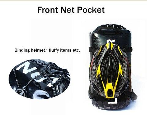 ciclismo cauda rear bag saco de capacete moto capacete