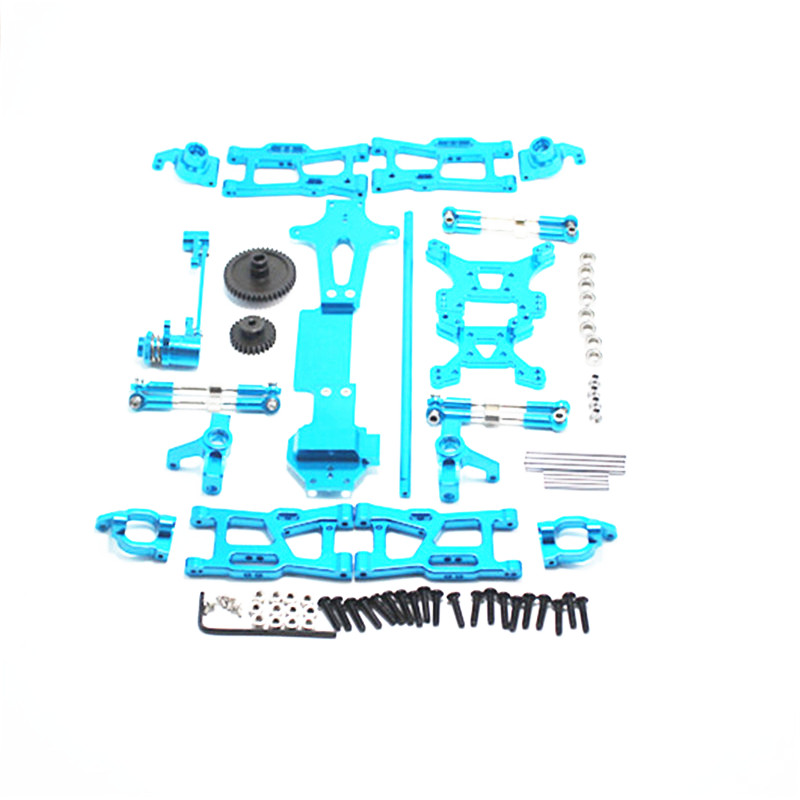 Upgrade Metal Parts Kit For Wltoys 144001 1/14 RC Buggy Car Parts