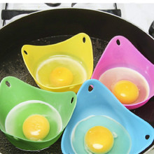 Silicone Egg Cooker Egg Mold Bowl Rings Cooker Boiler Cooked Hard Egg Kitchen Accessories Tools Pancake Maker Eggs Gadgets недорого