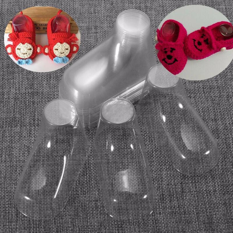4 20 шт прозрачные пластиковые детские ножной Дисплей Стенд